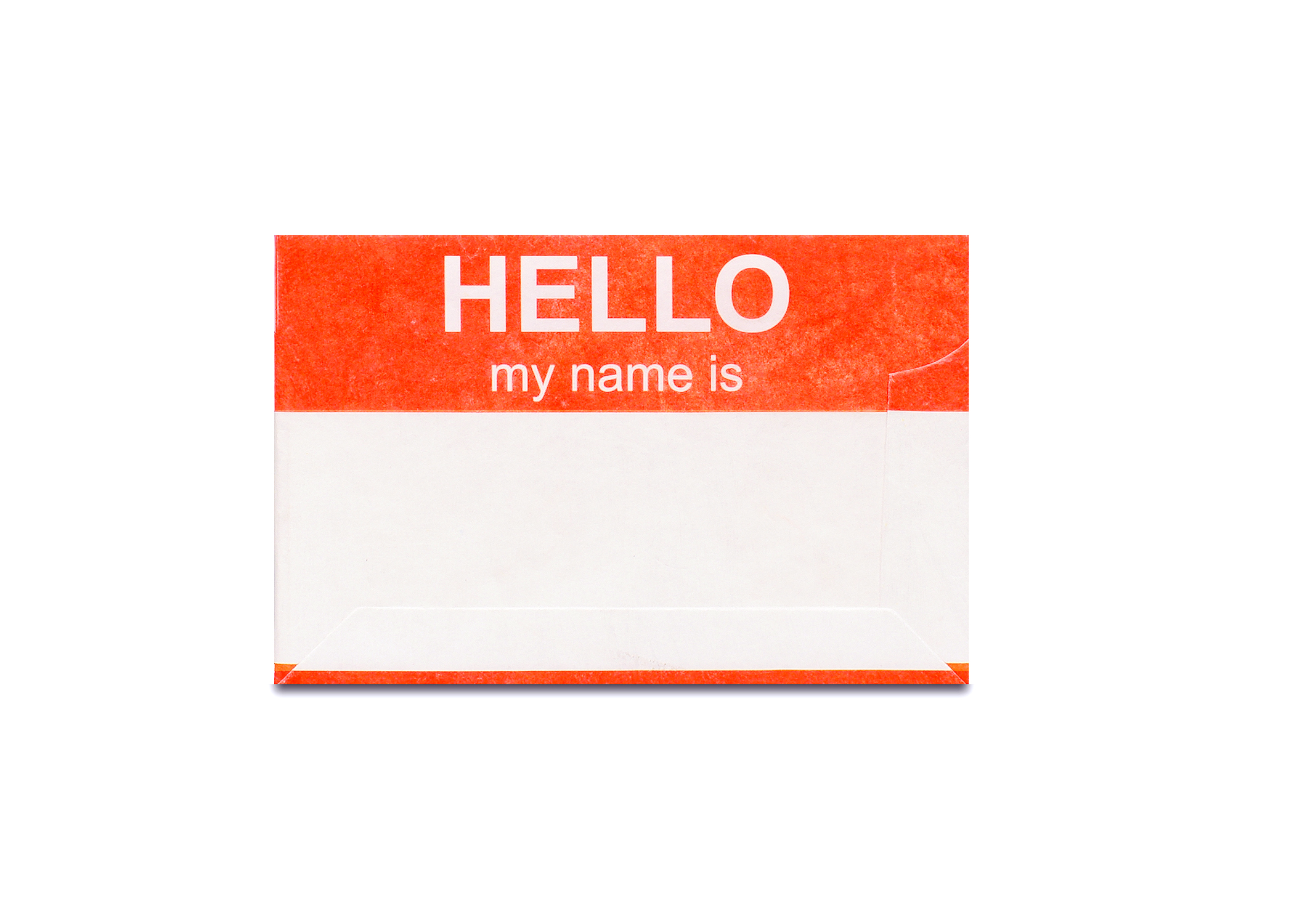 Mighty Cards Case Hello my name is