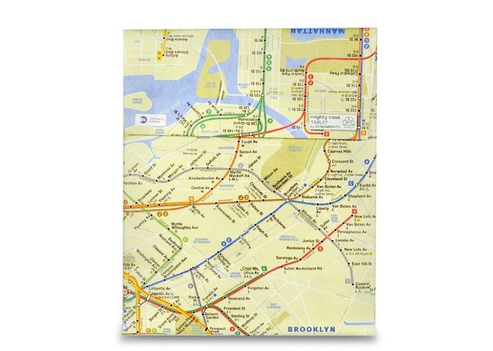 Mighty Tablet Case - NYC Subway Map