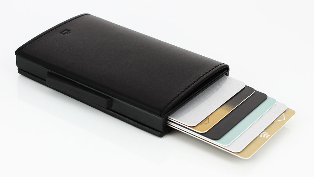 Ögon Cascade Wallet Full Black